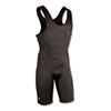 Brute High Cut Wrestling Singlet - Black - Youth Small