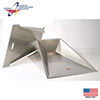 Stainless Steel Vault Box Lid (Lid Only)