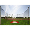 Steel Discus Cage w/ Net 12' Straight