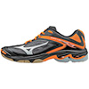 Mizuno Wave Lightning Z3 Women's Shoes - Black/Orange - 6