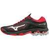 Mizuno Wave Lightning Z4 Women's Shoes - Black/Red - 8