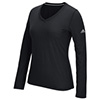 4876 - ADIDAS CLIMALITE ULTIMATE WOMENS LS TEE