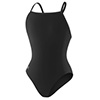 Speedo Solid Female Flyback - Black - 40