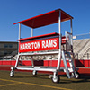 AAE Donkey-1 Portable 4' Press Box