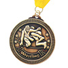 Wrestling Stock Medal