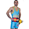 Custom Team Sublimated High Cut Singlet