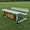 AAE Portable Unibody 7'6 Scorer's Table